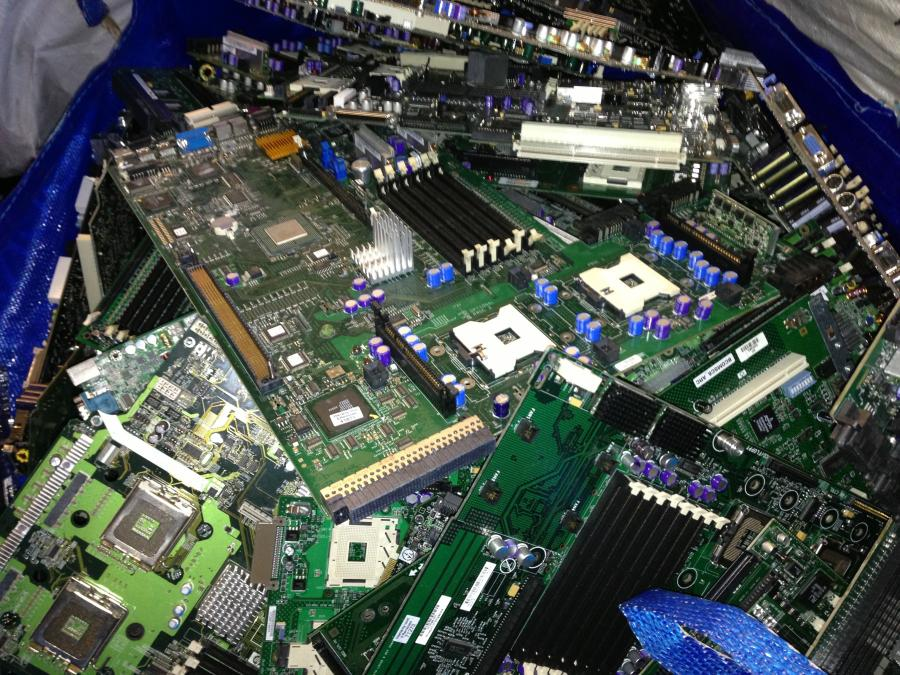 mother boards, circuit board recycling